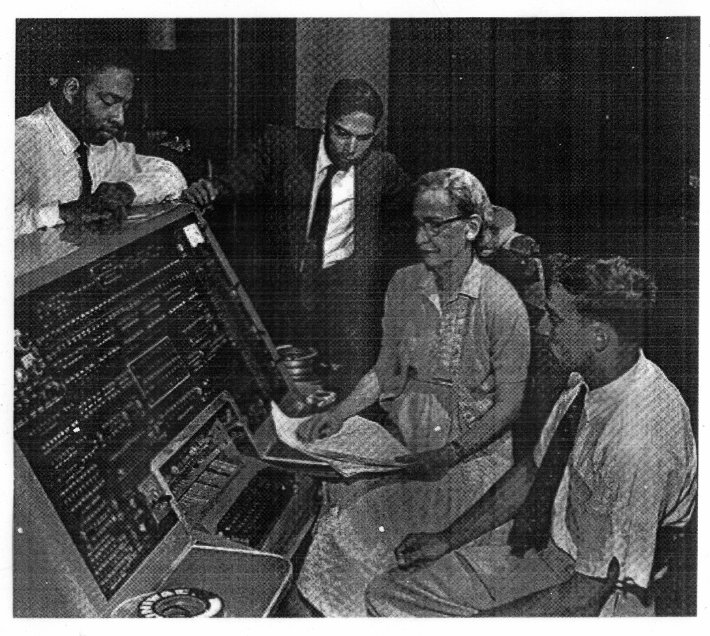 Grace Hopper at Console with Team